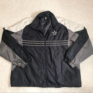 NFL Apparel Dallas Cowboys XL Windbreaker Jacket